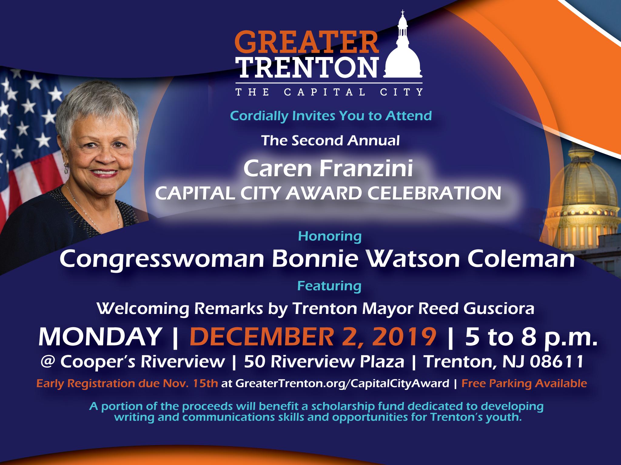Excitement Builds as Caren Franzini Capital City Award ...