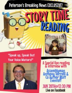 """Speak Up, Speak Out:"" Assemblyman Verelli Encourages"